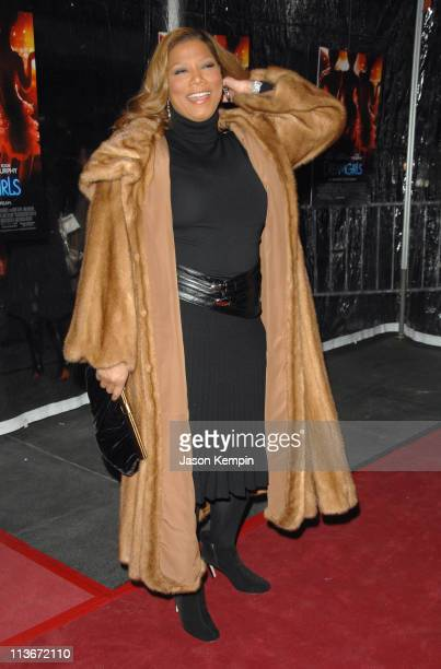 Queen Latifah during 'Dreamgirls' New York City Premiere Arrivals at Ziegfeld Theatre in New York City New York United States
