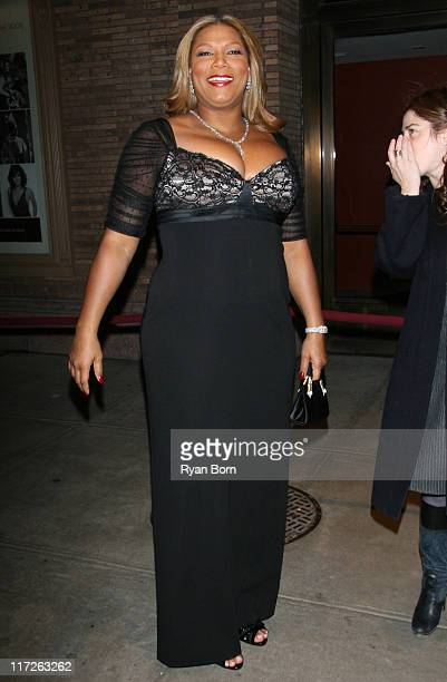 Queen Latifah during Glamour Magazine Honors The 2006 Women of The Year Outside Arrivals at Carnegie Hall in New York City New York United States
