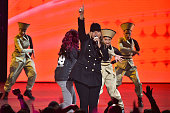 Queen Latifah performs onstage during the VH1 Hip Hop Honors All Hail The Queens at David Geffen Hall on July 11 2016 in New York City