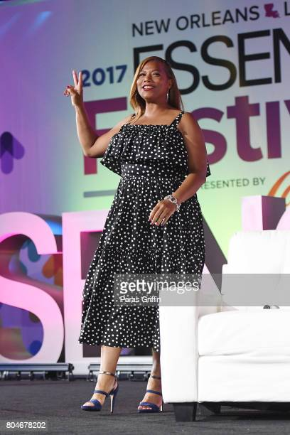 Queen Latifah poses onstage at the 2017 ESSENCE Festival presented by CocaCola at Ernest N Morial Convention Center on June 30 2017 in New Orleans...
