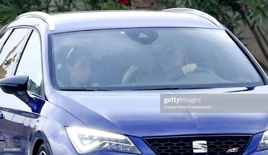Queen Letizia of Spain (L) and King Felipe VI of Spain is seen on August 1, 2017 in Palma de Mallorca, Spain.