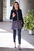 Queen Letizia of Spain Arrives At Integra Foundation...