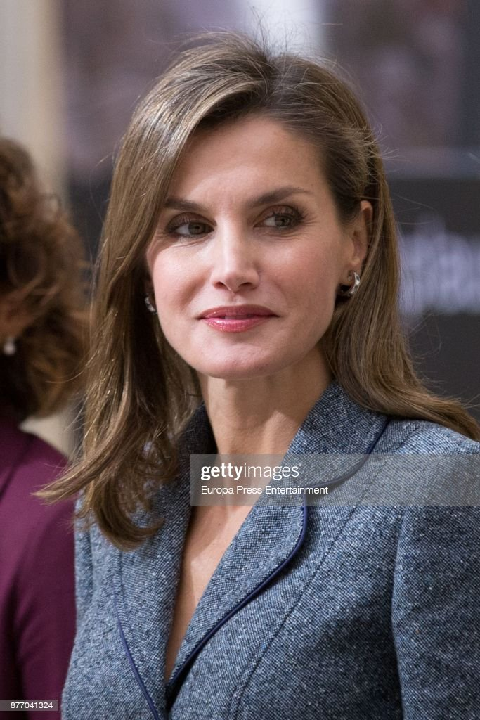 Queen Letizia Attends Queen Letizia Disability Awards