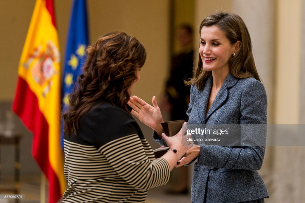Queen Letizia Meets Council of The Royal Board Of Disability And Deliver 'Reina Letizia' Awards