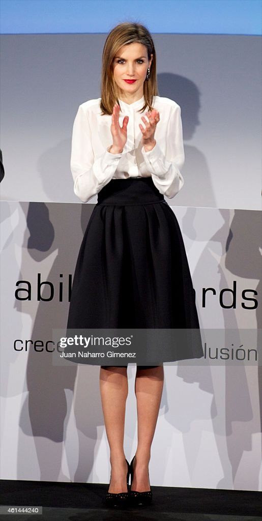 Queen Letizia of Spain Attends 'Telefonica Ability Awards' 2015