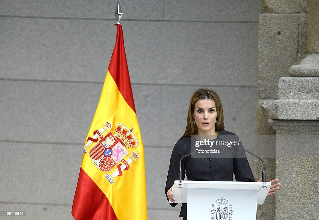 Queen Letizia Attends the 2013 Velazquez Plastic Arts Awards