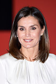 Queen Letizia Attends The Centenary Of The School Of...
