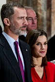 Spanish Royals Attend The Commemoration of...