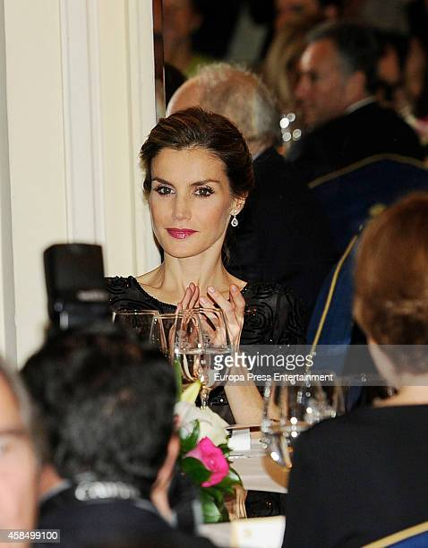 Queen Letizia of Spain attends the 'Francisco Cerecedo Journalism Award' ceremony on November 5 2014 in Madrid Spain