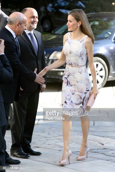 Queen Letizia of Spain attends The Opening of 'El Greco y La Pintura Moderna' Exhibition at El Prado Museum on June 23 2014 in Madrid Spain