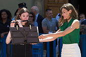 Queen Letizia Of Spain Inaugurates Summer Courses in...