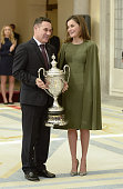 Spanish Royals Attend The National Sports Awards...