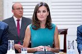Spanish Royals Meet The Members of 'Princesa De...