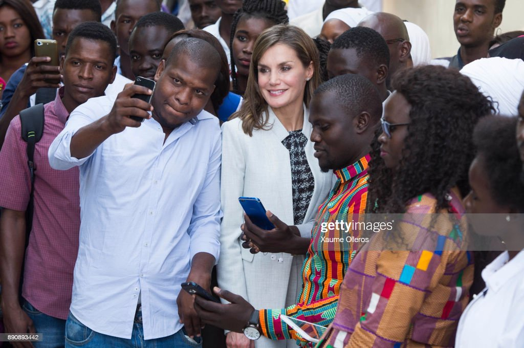 Day 2 - Queen Letizia of Spain Visits Senegal