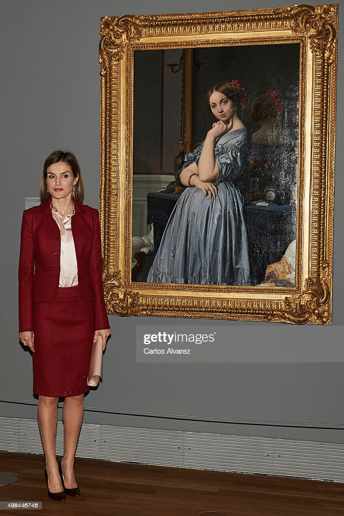 Queen Letizia of Spain Visit Prado Museum