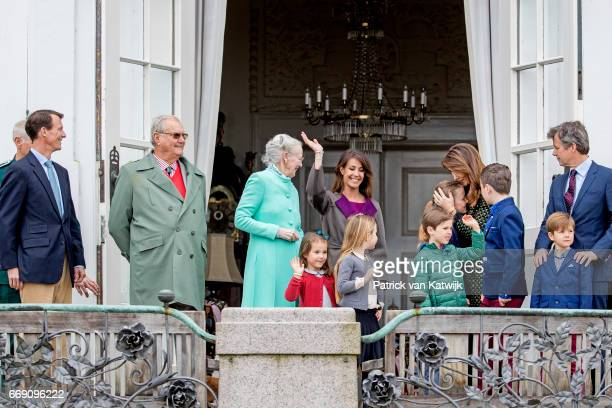 Queen Margrethe Crown Prince Frederik Crown Princess Mary Prince Christian Princess Isabella Prince Vincent Princess Josephine Prince Joachim...