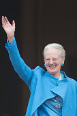 Queen Margrethe II of Denmark attends her 76th Birthday Celebration at Amalienborg Palace on April 16 2016 in Copenhagen Denmark