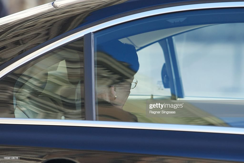 <a gi-track='captionPersonalityLinkClicked' href=/galleries/search?phrase=Queen+Margrethe+II+of+Denmark&family=editorial&specificpeople=171794 ng-click='$event.stopPropagation()'>Queen Margrethe II of Denmark</a> attends the funeral of Princess Lilian Of Sweden on March 16, 2013 in Stockholm, Sweden.