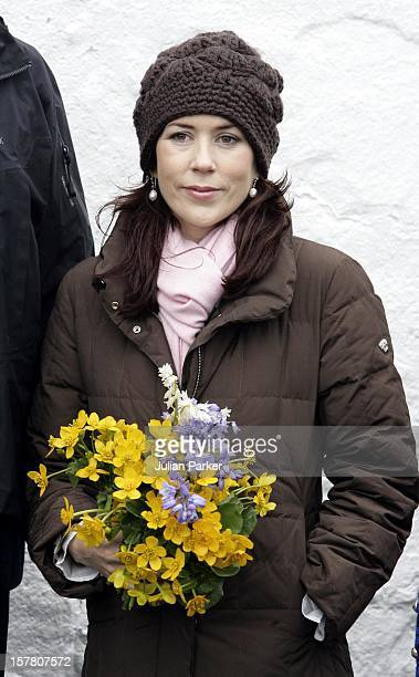 Queen Margrethe Ii Prince Henrik Crown Prince Frederik Crown Princess Mary Of Denmark'S FourDay Visit To The Faroe IslandsVisit To The Village Of...