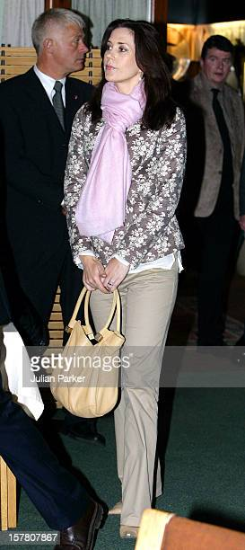 Queen Margrethe Ii Prince Henrik Crown Prince Frederik Crown Princess Mary Of Denmark'S FourDay Visit To The Faroe IslandsPress Conference At The End...