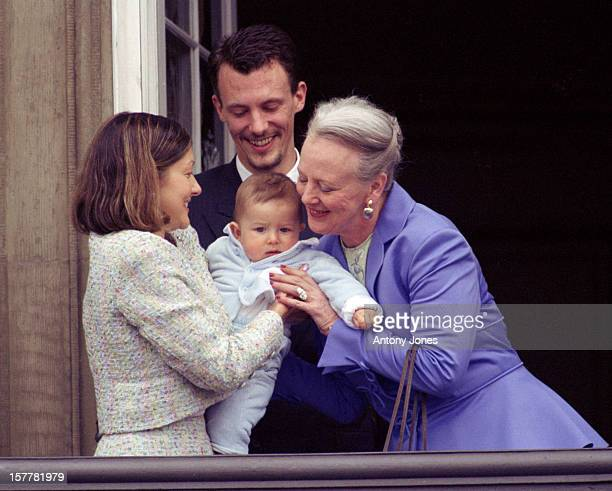 Queen Margrethe Ii Prince Joachim Princess Alexandra Prince Nikolai Of Denmark At The Queen'S 60Th Birthday Celebrations In CopenhagenAppearing On...