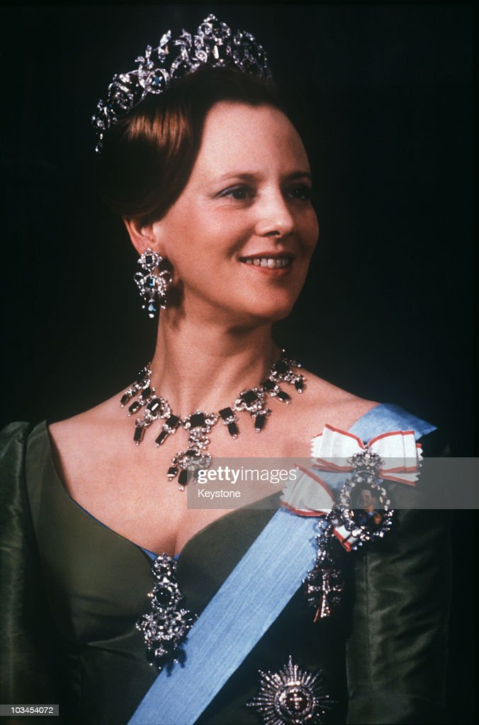 Queen Margrethe of Denmark poses on her 40th birthday on June 16 1980