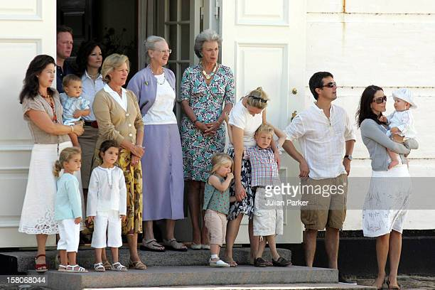Queen Margrethe Princess Benedikte Crown Prince Frederik Crown Princess Mary Prince Christian Of Denmark Queen AnneMarie Princess Alexia Of Greece...