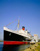Queen Mary at Long Beach in California