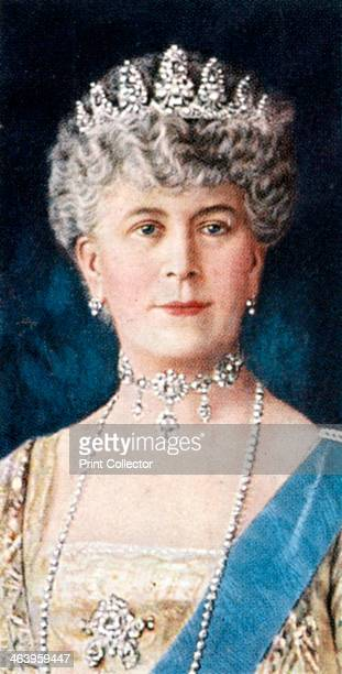 Queen Mary c1935 Portrait of Queen Mary Queen Consort of George V of the United Kingdom