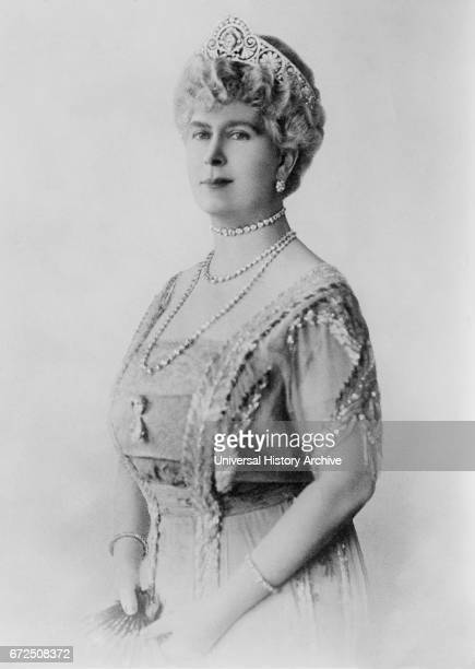 Queen Mary Consort of King George V of United Kingdom Portrait Bain News Service 1921