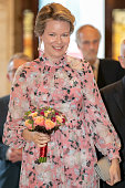 BEL: King Philippe Of Belgium And Queen Mathilde Of Belgium Attend The Preludium To The National Day