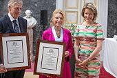Queen Mathilde Of Belgium Attends The Baillet Latour...