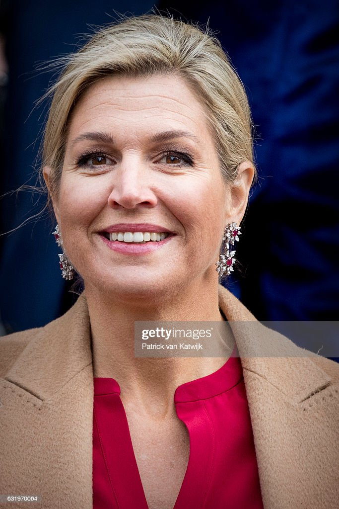 royal jewels of the world message board queen maxima at a new year 39 s reception. Black Bedroom Furniture Sets. Home Design Ideas