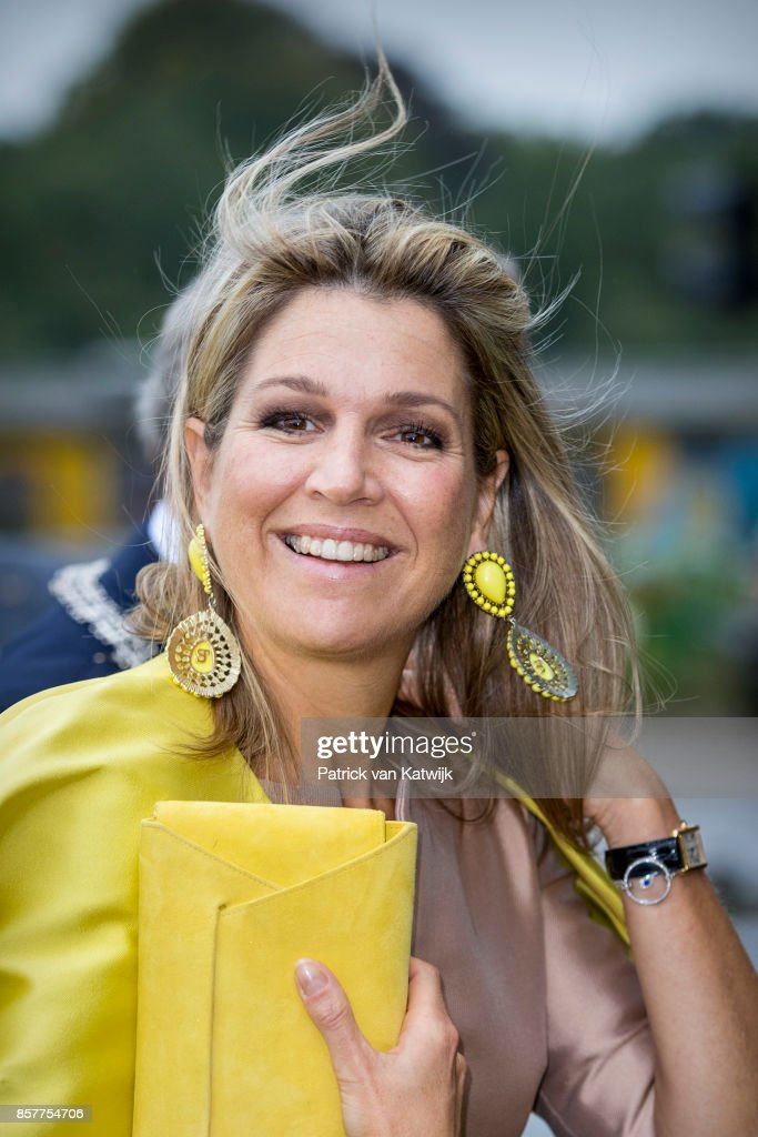 Queen Maxima  Of The Netherlands Attends Gender & Health Of Women Congres In Amersfoort
