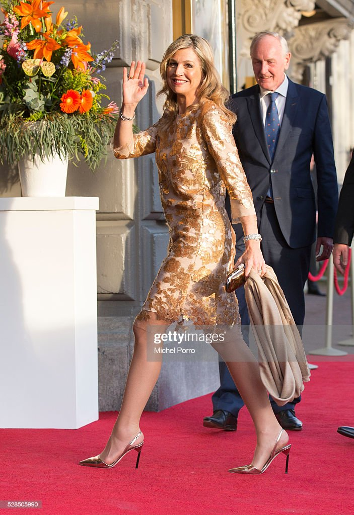 Queen Maxima of The Netherlands attends the Liberation Day Concert on May 5, 2016 in Amsterdam, Netherlands. Liberation Day (Dutch: Bevrijdingsdag) is celebrated each year on May the 5th to mark the end of the occupation by Nazi Germany during World War II.