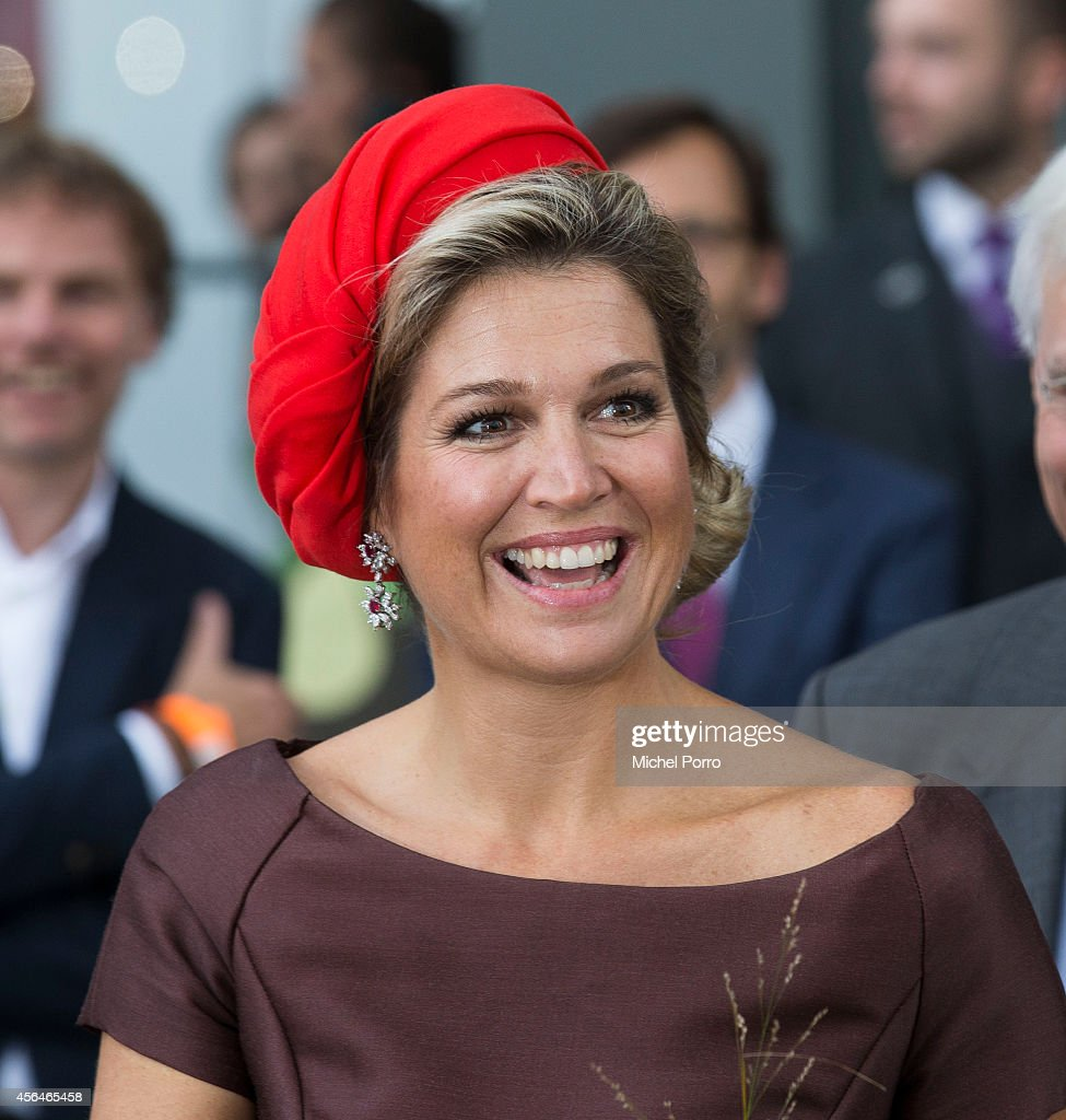 queen maxima of the netherlands opens markthal getty images. Black Bedroom Furniture Sets. Home Design Ideas