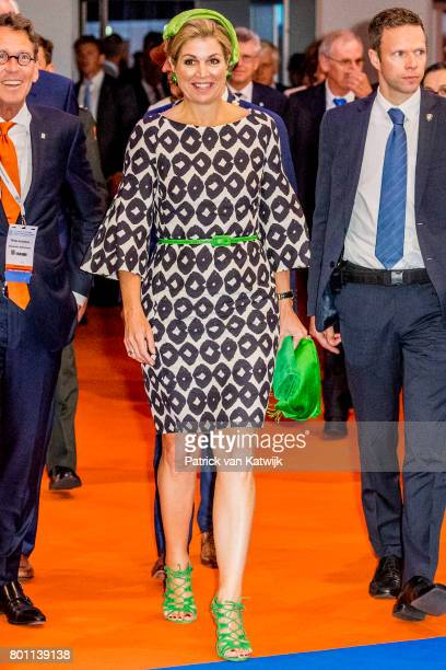 Queen Maxima of The Netherlands attends the third opening of the European Academy of Neurology congres on June 26 2017 in Amsterdam Netherlands