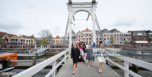 Queen Maxima of The Netherlands Princess Ariane of The Netherlands King WillemAlexander of The Netherlands Princess Alexia of The Netherlands and...