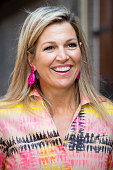 Queen Maxima Of The Nederlands visits 60th anniversary...