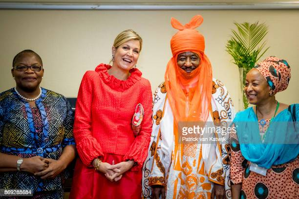 Queen Maxima of The Netherlands with the Emir of Kano Mallam Muhamned Sanusi Enhancing Financial Innovation and Acces event The Role of the...