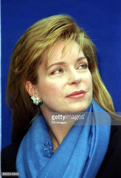 Queen Noor of Jordan at the launch of a new UK campaign 'Fish Forever' at Fish restaurant South East London The campaign aims to encourage...