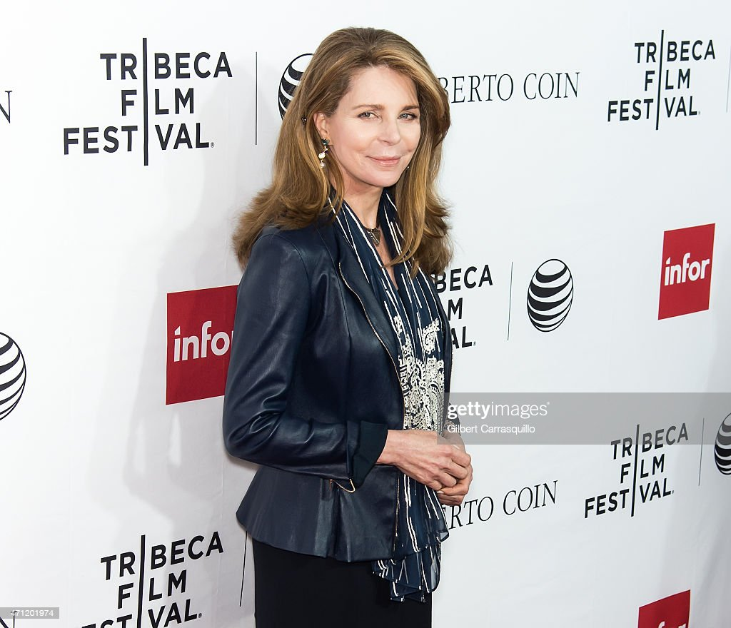Queen Noor of Jordan attends the closing night screening of 'Goodfellas' during the 2015 Tribeca Film Festival at Beacon Theatre on April 25, 2015 in New York City.