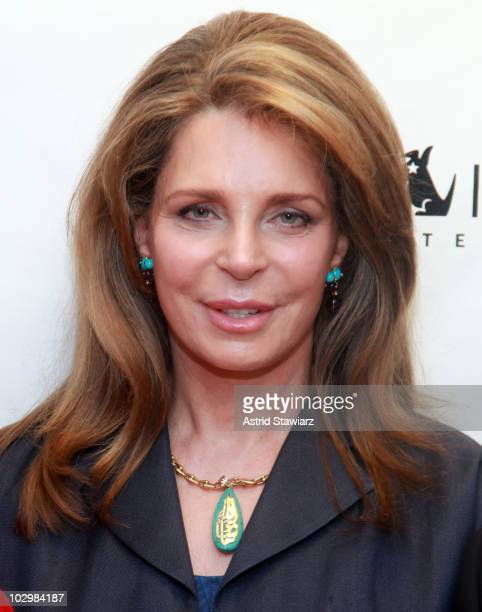 Queen Noor of Jordan attends the taping of 'The Road to Global Nuclear Disarmament The Origin The Evolution and The Future of a Movement' at SIRIUS...