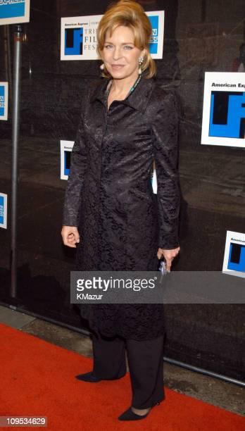 Queen Noor of Jordan during 2003 Tribeca Film Festival Awards Ceremony Arrivals at Stuyvesant High School Auditorium in New York City New York United...