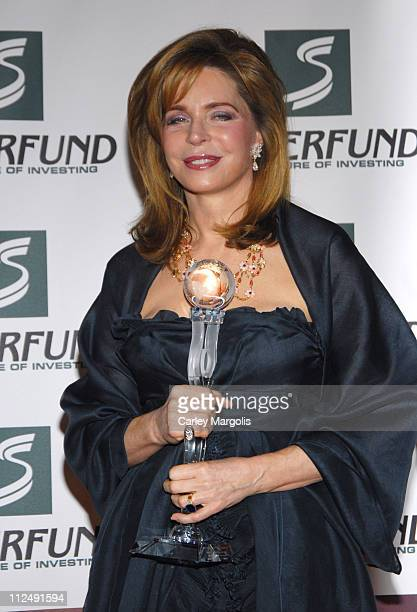 Queen Noor of Jordan during 3rd Annual Womens World Awards Press Room at The Hammerstein Ballroom in New York City New York United States