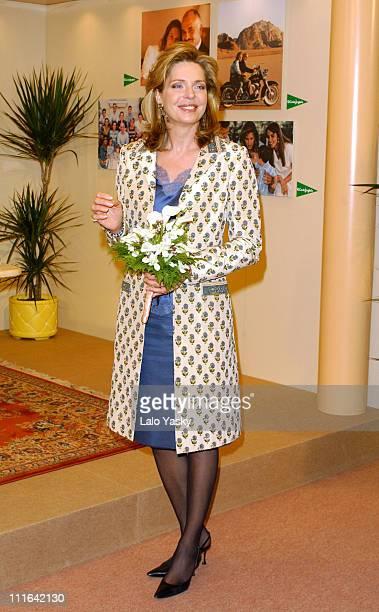 Queen Noor of Jordan during Queen Noor of Jordan Signs her Autobiography Book 'Memories of an Unexpected Life' Madrid at El Corte Ingles in Madrid...