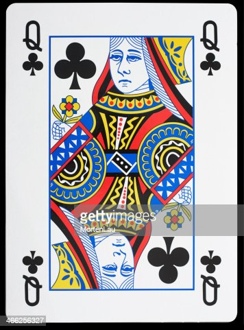 Queen Of Clubs Stock Photo | Thinkstock