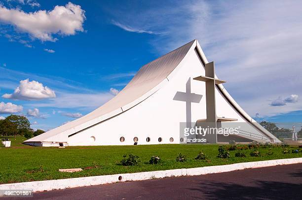 Queen of Peace Cathedral Brasilia Brazil Military