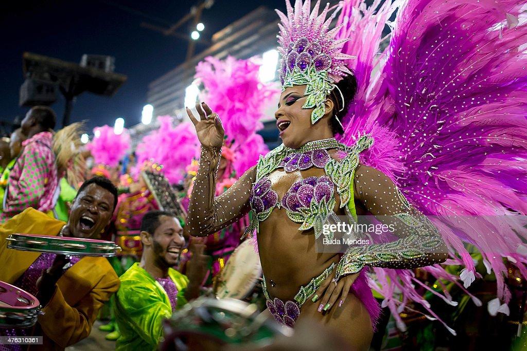 The Carnival in Rio de Janeiro, Brazil.