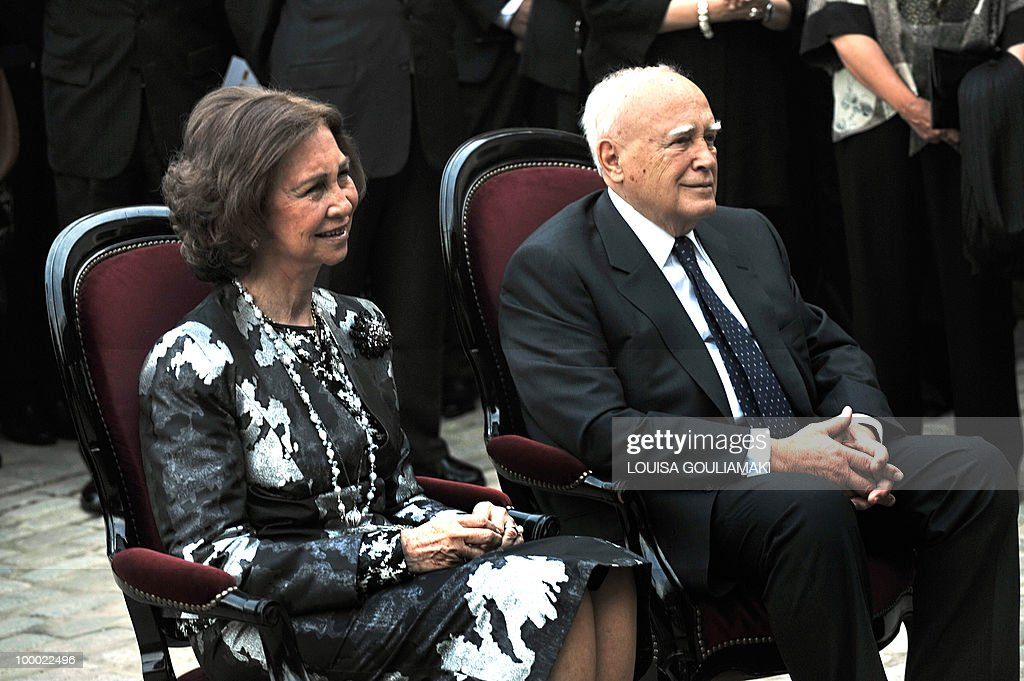 Queen of Spain, Sophia (L) and Greek pre